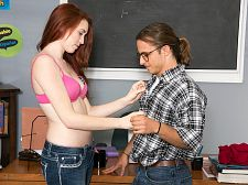 Seductive Student